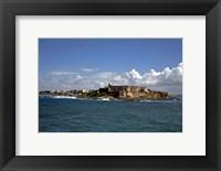 Framed El Morro, San Juan Puerto Rico