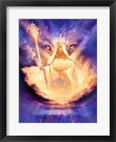 Framed Christian Lion Of Judah
