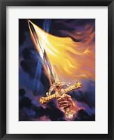 Framed Christian Sword Of Spirit