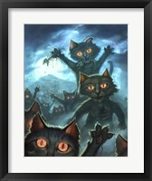 Framed Zombie Cats