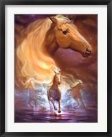 Framed Fantasy Horse Dreams