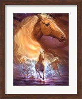 Framed Fantasy Horse Dreams