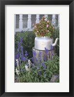 Framed Garden Tea Pot