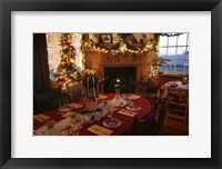 Framed Christmas Table