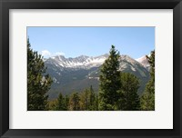 Framed Scenic Mountain View