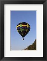 Framed Air Balloon
