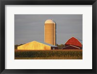 Framed Barn & Silo