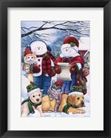 Framed Winter Wonder Friends