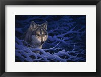 Framed Deep Blue