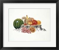 Framed Fruits Fiesta