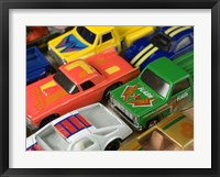 Framed Toy Cars