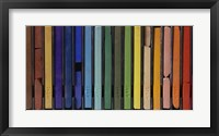 Framed Vertical Pastels