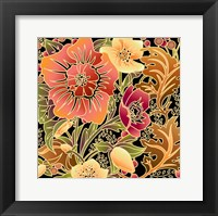 Framed Fall Flowers II