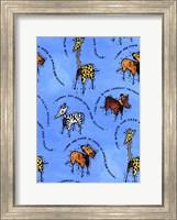Framed Animal Ornaments