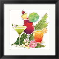 Framed Tropical Drink II