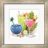 Framed Tropical Drink IV