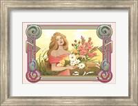 Framed Spring Nouveau