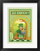 Framed Go Green