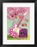 Framed Girls Rock and Rule