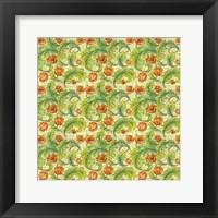 Framed Modern-Morris-pattern