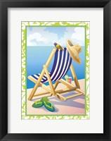Framed Summer Day (green border)
