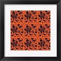 Framed Halloween House Pattern