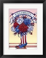 Framed Celebrate the 4th