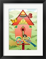 Framed Country Birdhouse
