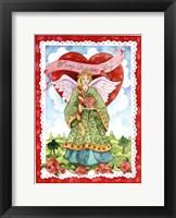 Framed Valentine Angel