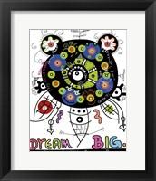 Framed Dream Big