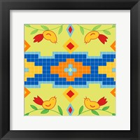 Framed Bird Square