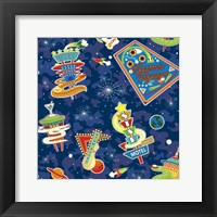 Framed Cosmic Voyage Pattern