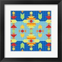 Framed Geometric Square