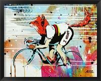 Framed Le Fox