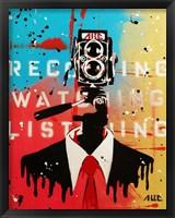 Framed NSA Camera Man