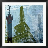 Framed Paris (French Blue)