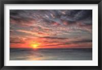 Framed Atlantic Sunrise No. 9