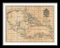 Framed Caribbean, 1806