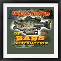 Framed Bass Destruction