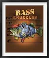 Framed Bass Knuckles