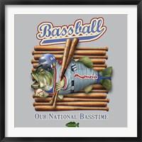 Framed Bassball
