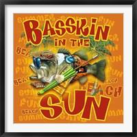 Framed Bassin' in the Sun
