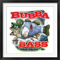 Framed Bubba Bass