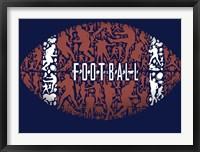 Framed Football