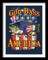 Framed God Bass America