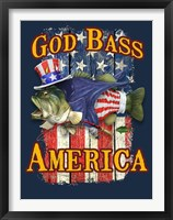Framed God Bass America