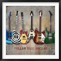 Framed Guitar line up