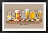 Framed Mug Shots (detail)
