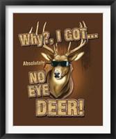 Framed No Eye Deer / Deer / Elk