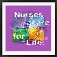Framed Nurses Care